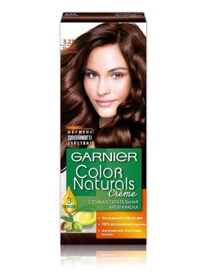 Стойкая питательная крем-краска для волос Color Naturals, оттенок 3.23, Темный шоколад Garnier. Цвет: коричневый