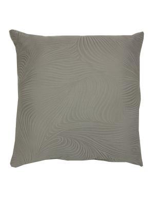 Декоративная подушка Naturel. Цвет: темно-серый