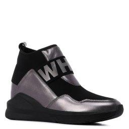 Ботинки  712-1 фиолетово-серый NURIA