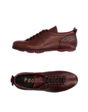 Обувь на шнурках PANTOFOLA D'ORO. Цвет: какао