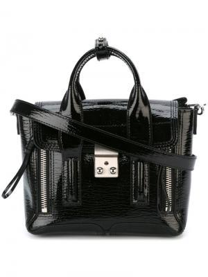 Мини сумка-сэтчел Pashli 3.1 Phillip Lim. Цвет: чёрный