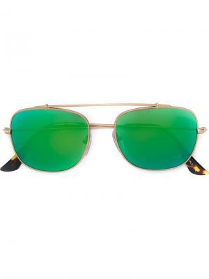 Солнцезащитные очки Primo Reflek Retrosuperfuture. Цвет: коричневый