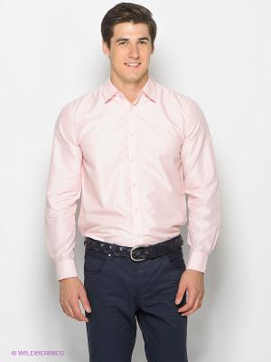 Рубашка TOM FARR. Цвет: розовый