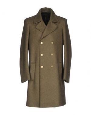 Пальто GUTTHA. Цвет: зеленый-милитари