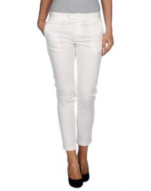 Повседневные брюки ADELE FADO. Цвет: белый