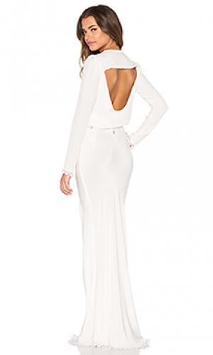 Вечернее платье bianca STONE_COLD_FOX. Цвет: ivory