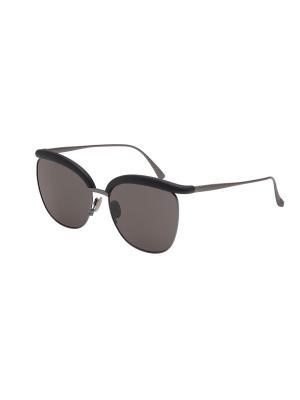 Солнцезащитные очки Bottega Veneta. Цвет: серый, черный