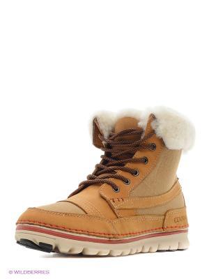Ботинки Covani. Цвет: желтый