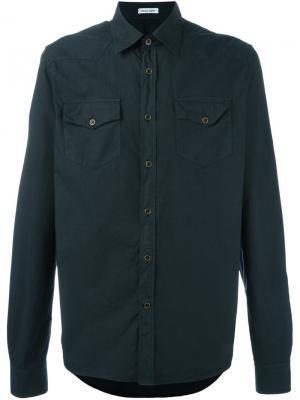 Классическая рубашка Tomas Maier. Цвет: чёрный