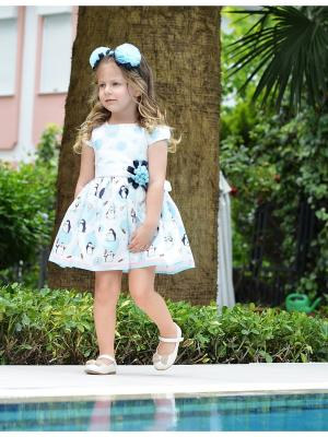 Комплект (Платье+ободок+брошь для девочки lindissima) Lindissima