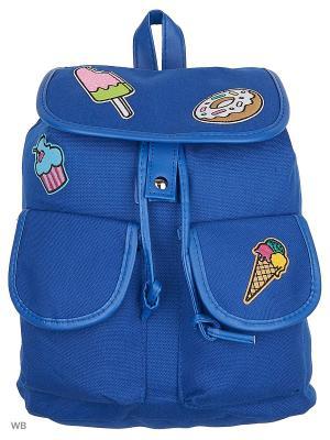 Рюкзак Modis. Цвет: синий, лазурный
