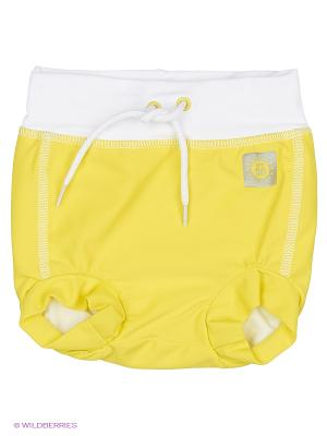 Купальные брюки Reima. Цвет: желтый