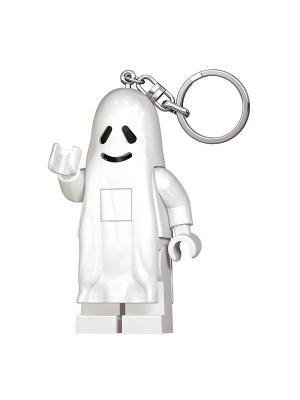 Брелок-фонарик для ключей LEGO Ghost. Цвет: белый