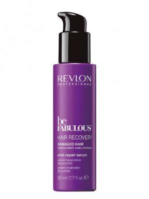 Восстанавливающая сыворотка для кончиков волос RP BE FABULOUS 80 мл Revlon Professional. Цвет: фиолетовый