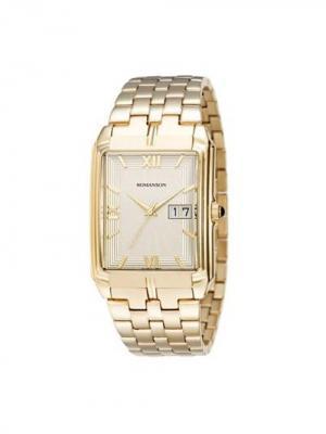 Часы TM8154CX Romanson. Цвет: золотистый