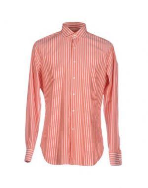Pубашка ALESSANDRO GHERARDI. Цвет: оранжевый