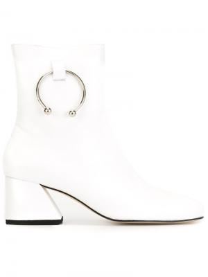 Ботинки Nizip Dorateymur. Цвет: белый