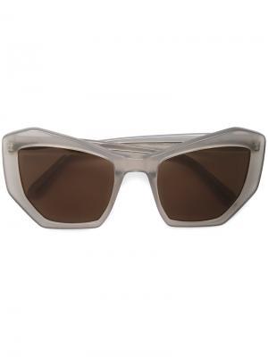 Солнцезащитные очки Brasilia Prism. Цвет: серый