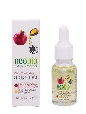Neobio насыщенное масло для лица. Цвет: светло-желтый