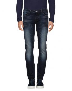 Джинсовые брюки HAMAKI-HO. Цвет: синий