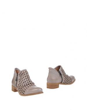 Ботинки CHIARINI BOLOGNA. Цвет: голубиный серый