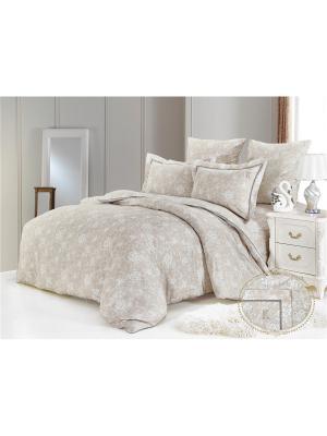 Комплект постельного белья, Дивара, 1,5 спальный KAZANOV.A.. Цвет: бежевый