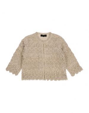 Пиджак TWIN-SET Simona Barbieri. Цвет: песочный