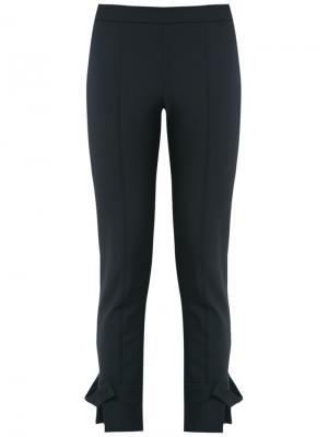 Укороченные брюки скинни Gloria Coelho. Цвет: синий