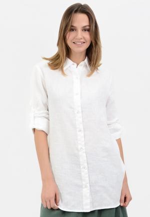 Рубашка Lino Russo. Цвет: белый