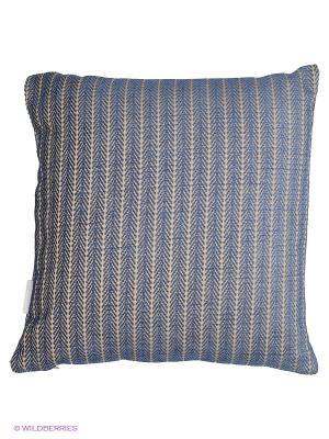 Подушка PRIVIUM. Цвет: синий, бежевый