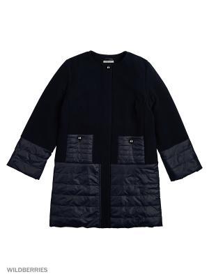Пальто MARIELA. Цвет: черный, темно-зеленый