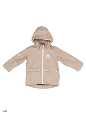 Куртка Reima. Цвет: бежевый