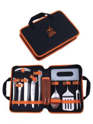 Набор Полевая кухня Экспедиция. Цвет: черный, оранжевый