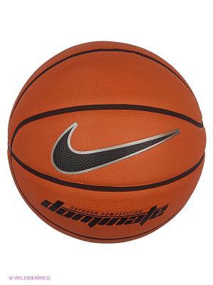 Мяч DOMINATE (6) Nike. Цвет: светло-коричневый, красный, терракотовый