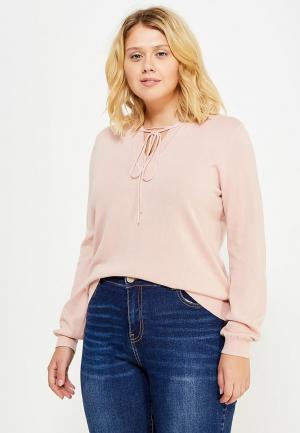 Пуловер LOST INK PLUS. Цвет: розовый