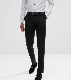 Noak Фланелевые брюки суженного книзу кроя TALL. Цвет: черный