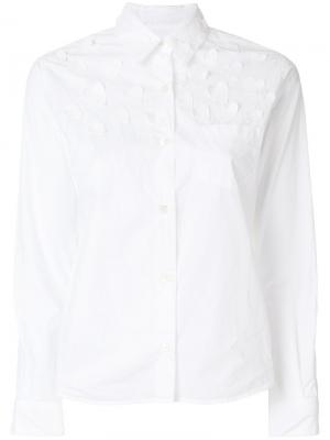 Рубашка Hearts Jimi Roos. Цвет: белый