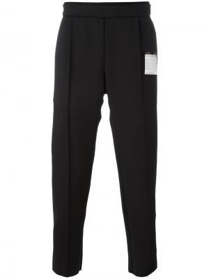 Спортивные брюки Post-run Satisfy. Цвет: чёрный
