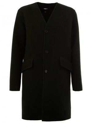 Пальто с карманами Yang Li. Цвет: зелёный