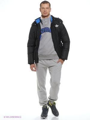 Пуховик PRAEZ HOOD JKT Adidas. Цвет: черный