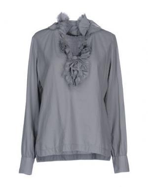 Блузка CALIBAN. Цвет: светло-серый
