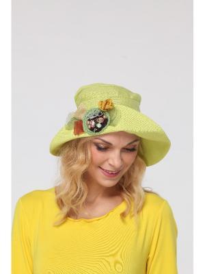 Шляпа Lak Miss. Цвет: салатовый