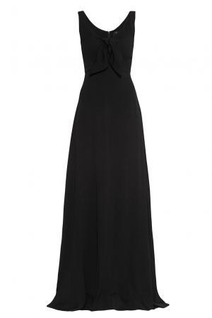 Платье из вискозы 177500 Cyrille Gassiline. Цвет: черный