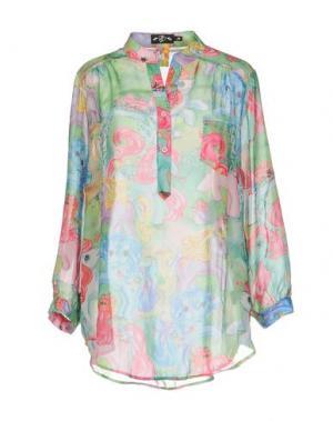 Pубашка IRON FIST. Цвет: светло-зеленый