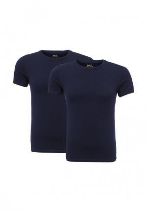 Комплект футболок 2 шт. Polo Ralph Lauren. Цвет: синий