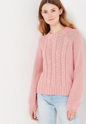 Джемпер Only. Цвет: розовый