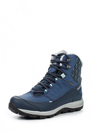 Ботинки Salomon. Цвет: синий