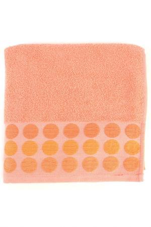 Полотенце махровое, 50х90 см BRIELLE. Цвет: оранжевый