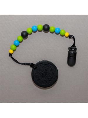Игрушка-подвеска Краски лета. Цвет: черный, светло-зеленый, голубой, желтый