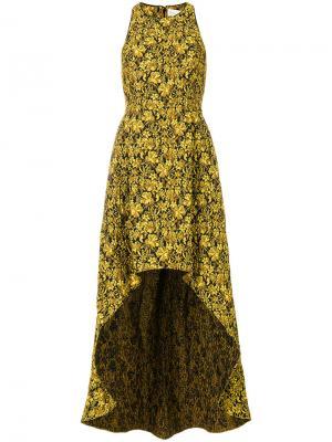 Платье Wesmerald Sachin & Babi. Цвет: жёлтый и оранжевый